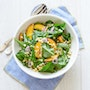 Arugula Peach Corn Salad