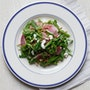 Watermelon Radish + Snap Pea Salad