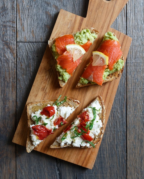 Avocado and Ricotta Toasts