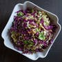 Brussels Sprouts + Cabbage Slaw