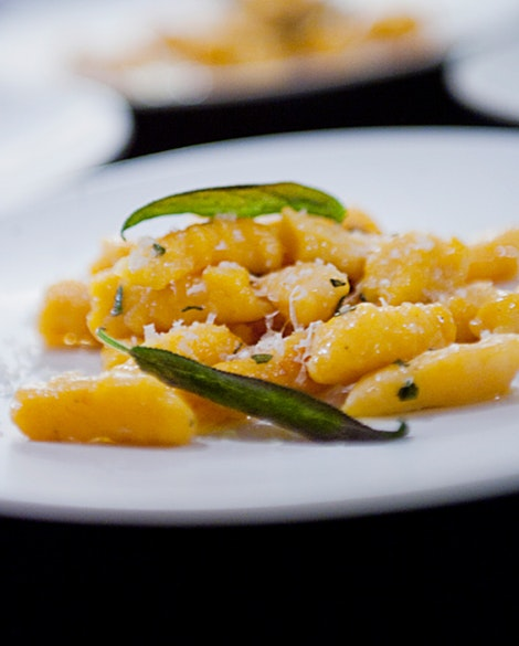 Butternut Squash Gnocchi with Sage Butter