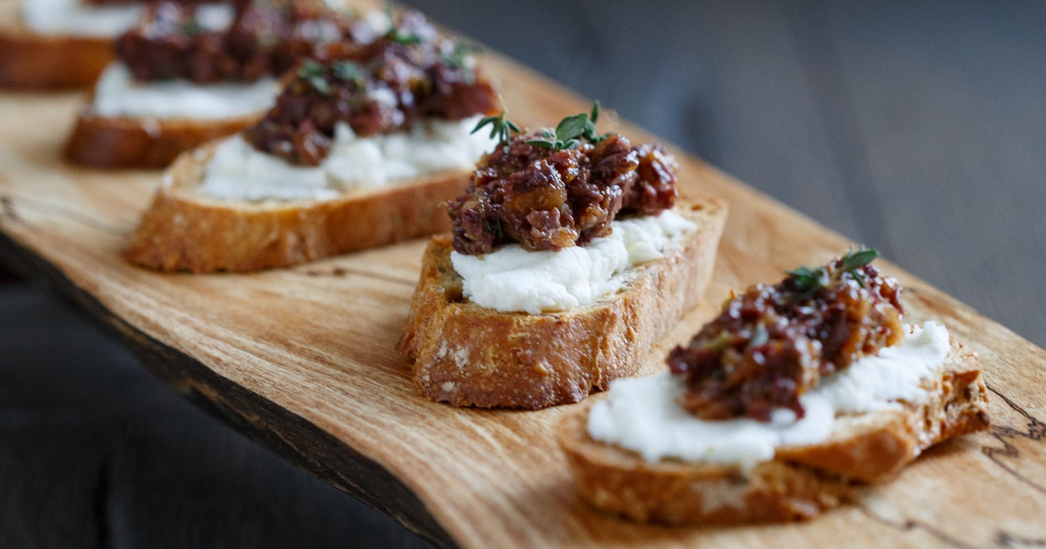 ... olive and goat cheese pizza olive tapenade and goat cheese crostini