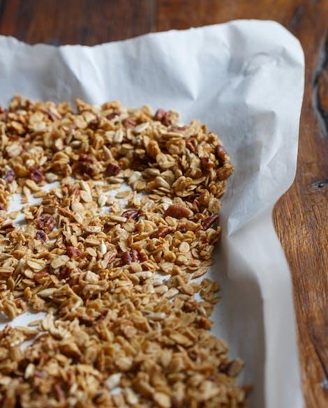 Crunchy Maple Pecan Granola