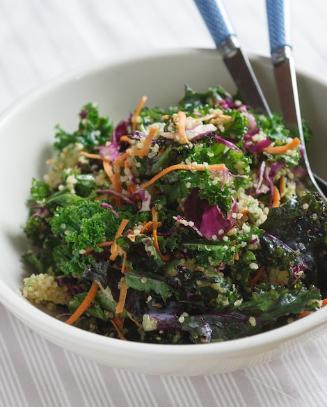 Detox Kale Salad with Avocado