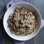 Farro with Wild Mushrooms