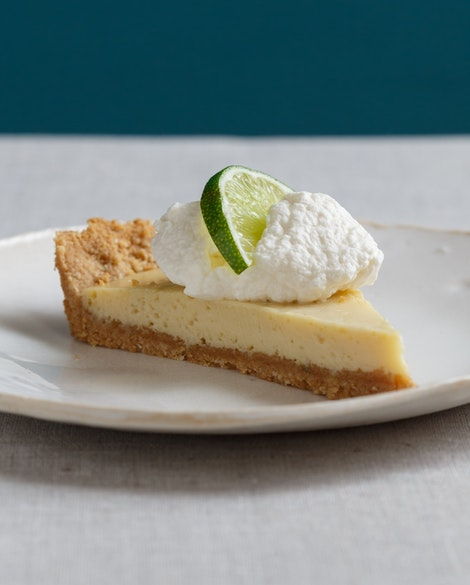 Gluten-Free Key Lime Tart with Almond Graham Crust