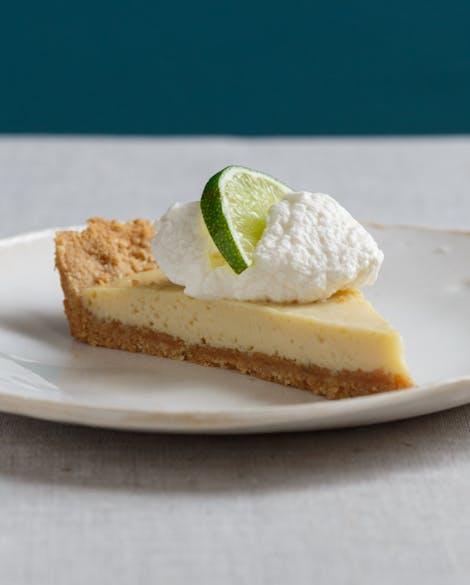 Gluten-Free Key Lime Tart with Almond Graham Crust