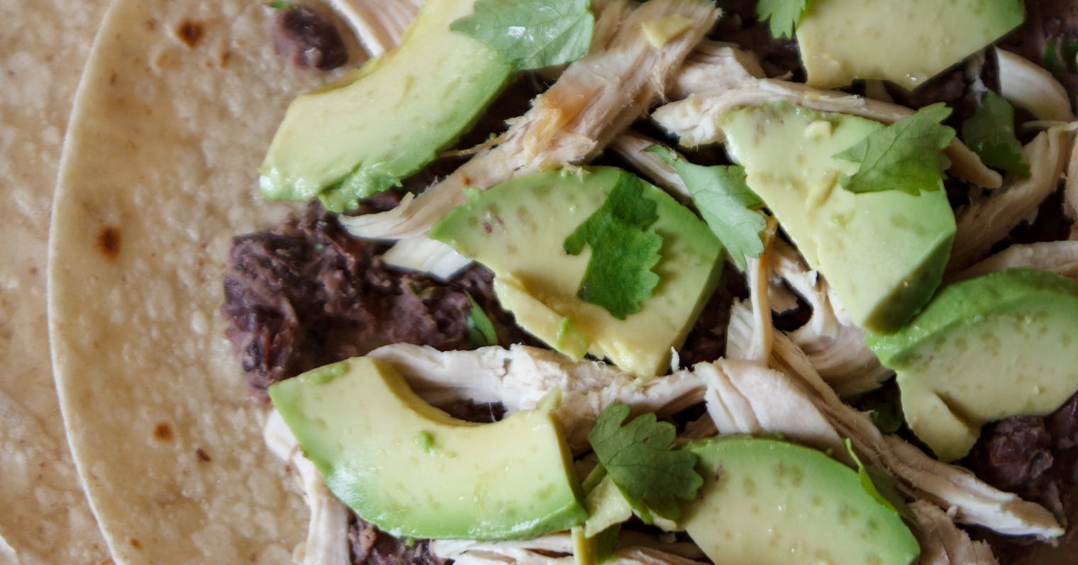 Best Gluten-Free Quesadillas with Black Beans, Chicken, and Avocado ...
