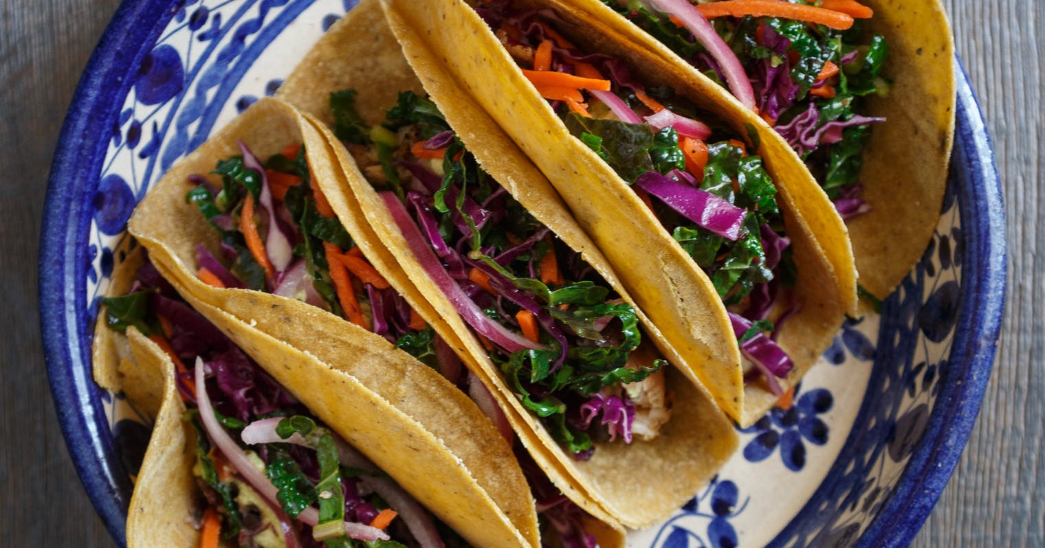 Best grilled fish tacos with avocado and kale slaw recipe for Best grilled fish taco recipe