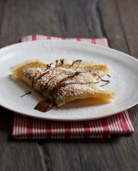 The Best Nutella Crêpe