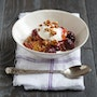 Peach Blackberry Crumble
