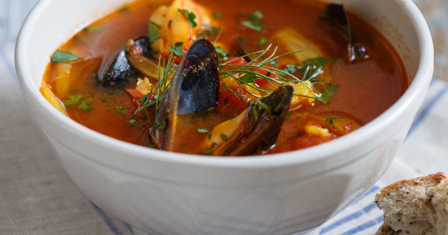 Best spicy seafood stew recipe the yellow table for Recipe for seafood stew