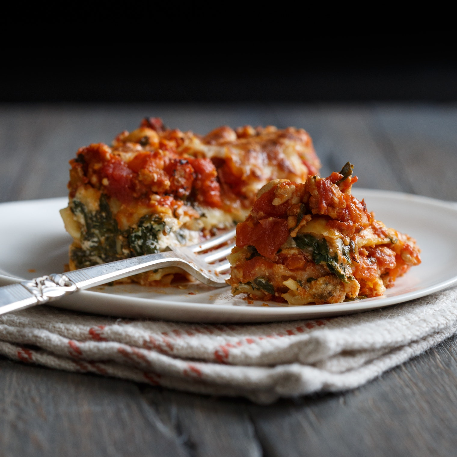 best spinach turkey lasagna recipe the yellow table