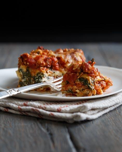Spinach Turkey Lasagna