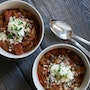 Three-Bean Turkey Chili