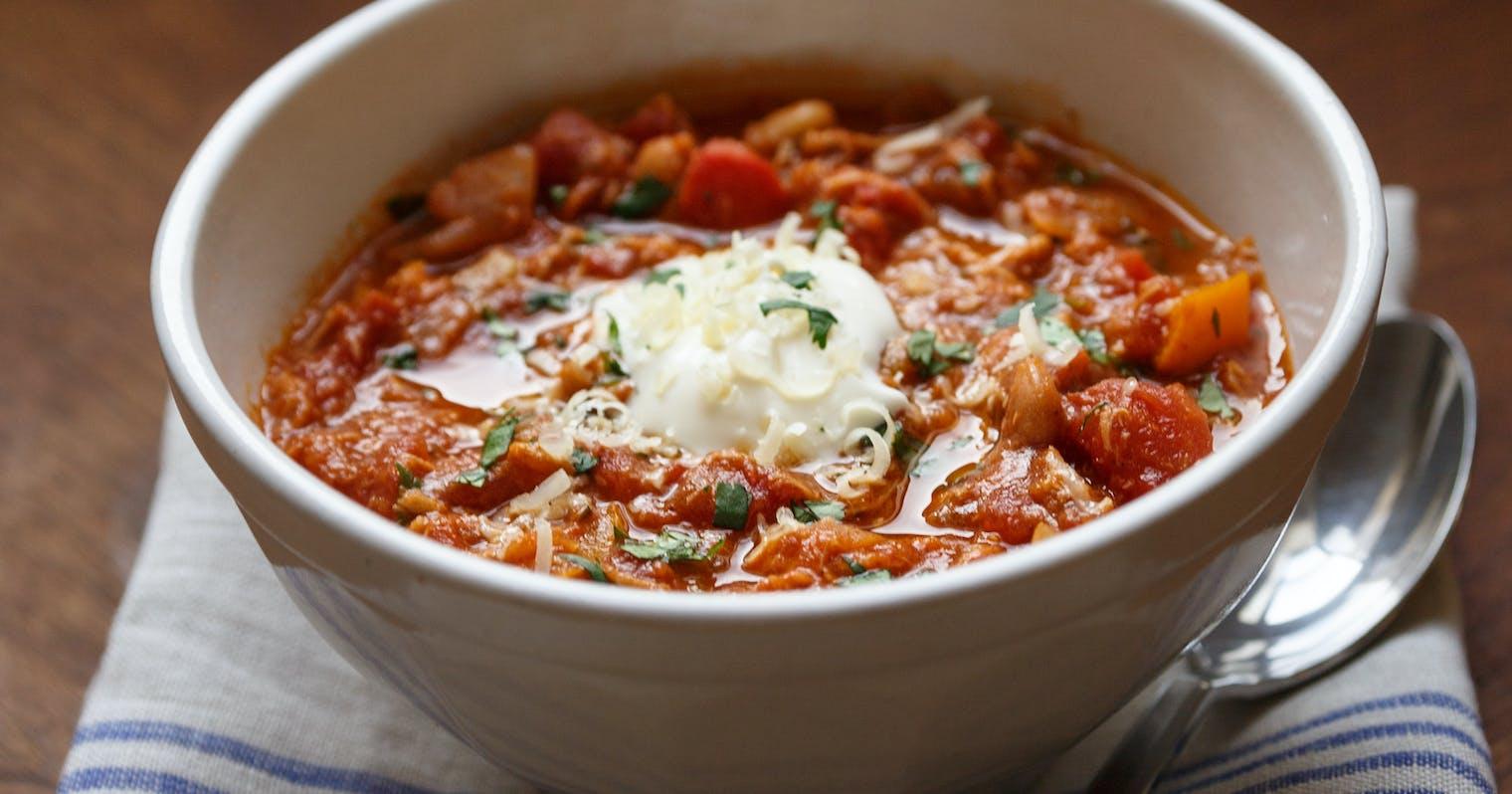 Best White Bean Chicken Chili Recipe The Yellow Table