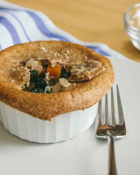 Whole Wheat Chicken Pot Pies with Kale