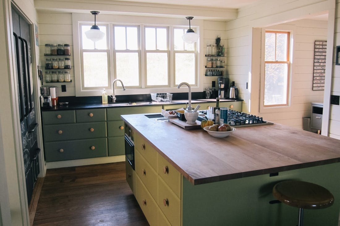 Escape Bathrooms Chard fall escape: the perfect leelanau county farmhouse - the yellow table